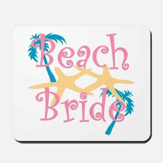 Beachbride2pink.png Mousepad