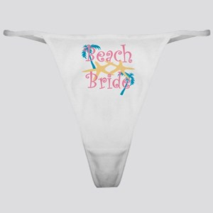 beachbride2pink Classic Thong