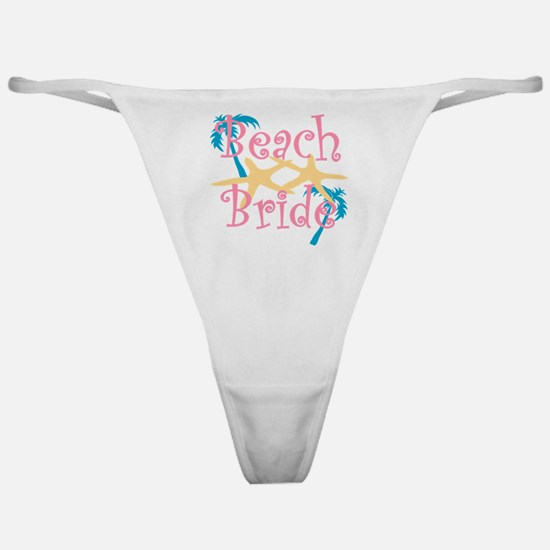 beachbride2pink.png Classic Thong