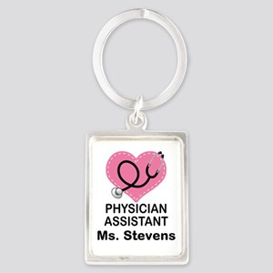Physician Assistant personalized Keychains