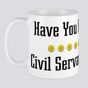 Hugged Civil Servant Mug