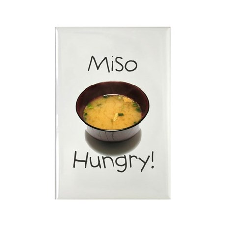 Miso Hungry Rectangle Magnet (10 pack)