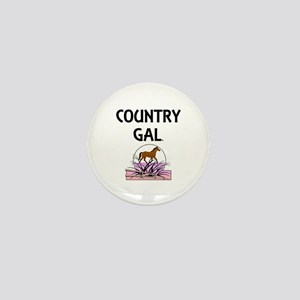 Country Gal Mini Button