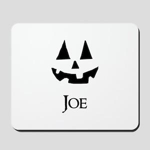 Joe Halloween Pumpkin face Mousepad