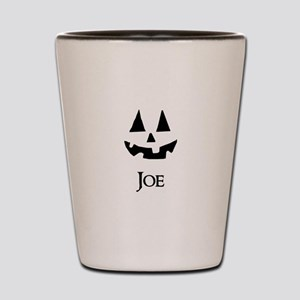 Joe Halloween Pumpkin face Shot Glass