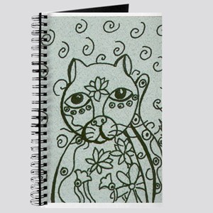 Cat with Lotus Tattoos Journal