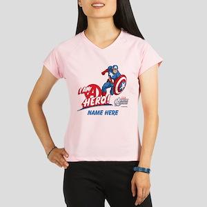 Avengers Assemble Captain Performance Dry T-Shirt