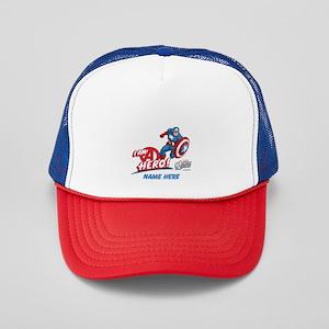 Avengers Assemble Captain America Pers Trucker Hat