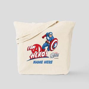 Avengers Assemble Captain America Persona Tote Bag