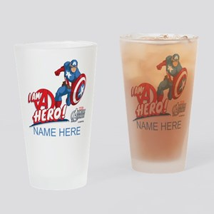 Avengers Assemble Captain America P Drinking Glass