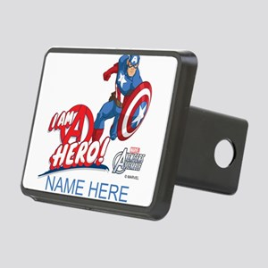 Avengers Assemble Captain Rectangular Hitch Cover