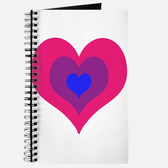 Bisexual Hearts Stacking Journal