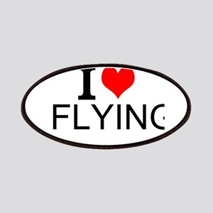 I Love Flying Patches