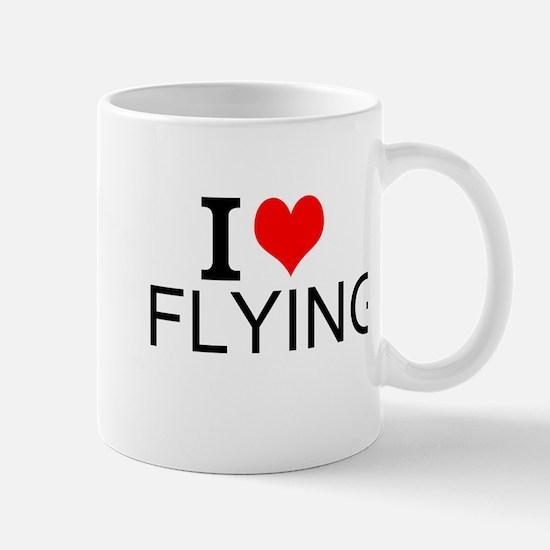 I Love Flying Mugs
