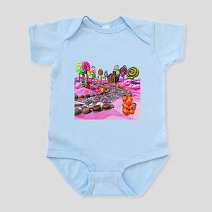 Pink Candyland Infant Bodysuit
