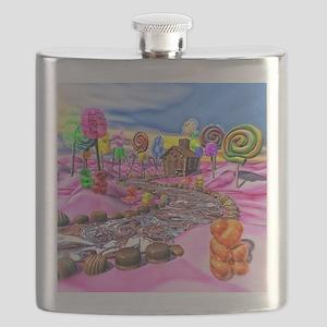 Pink Candyland Flask
