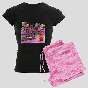 Pink Candyland Women's Dark Pajamas