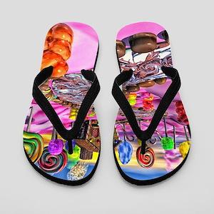 3463ebbf27cad0 Gummy Bears Flip Flops - CafePress