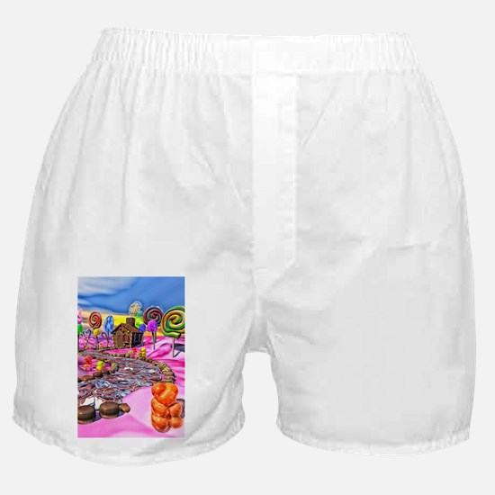 Pink Candyland Boxer Shorts