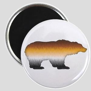 FURRY BEAR PRIDE BEAR CUTOUT Magnet