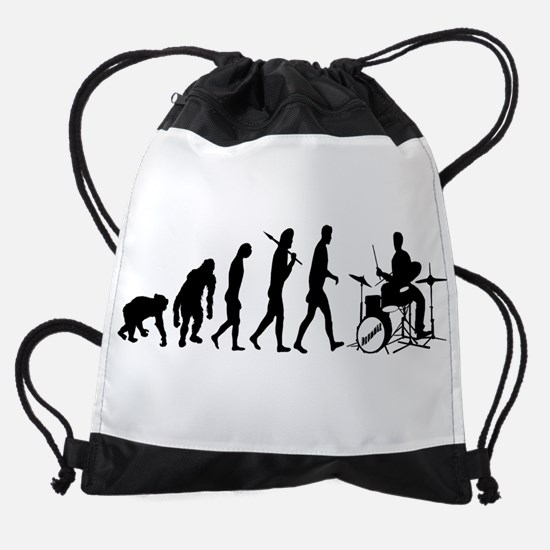 Drummers Drum Drawstring Bag