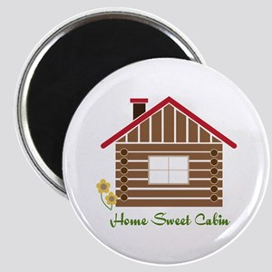 Home Sweet Cabin Magnets