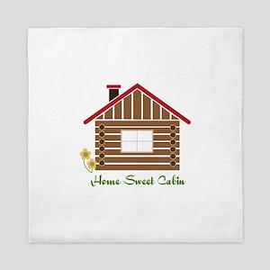 Home Sweet Cabin Queen Duvet