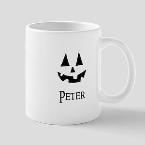 Peter Halloween Pumpkin face Mugs