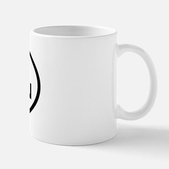ATL Oval Mug
