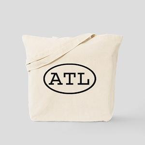 ATL Oval Tote Bag