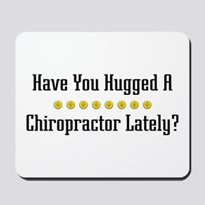 Hugged Chiropractor Mousepad