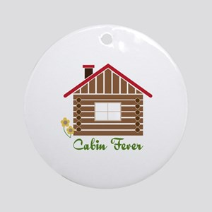 Cabin Fever Ornament (Round)