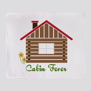 Cabin Fever Throw Blanket