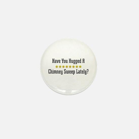 Hugged Chimney Sweep Mini Button