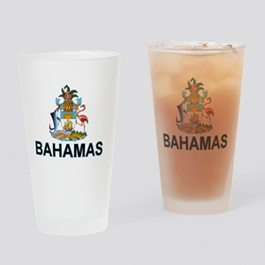 bahamas-arms-labeled Drinking Glass