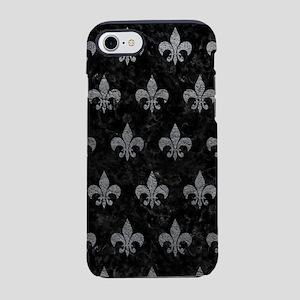 ROYAL1 BLACK MARBLE & GRAY LEA iPhone 7 Tough Case