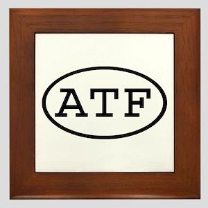 ATF Oval Framed Tile