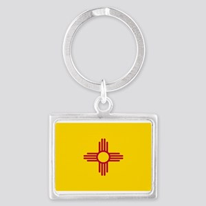 New Mexico Flag Yellow Keychains