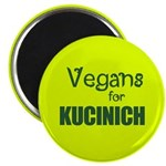 Vegans for Kucinich Magnet