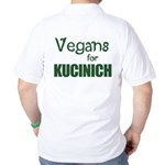 Vegans for Kucinich Golf Shirt