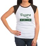 Vegans for Kucinich Women's Cap Sleeve T-Shirt