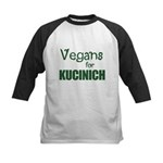 Vegans for Kucinich Kids Baseball Jersey