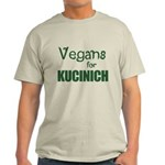 Vegans for Kucinich Light T-Shirt