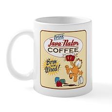 Java-Nator Garfield Mugs