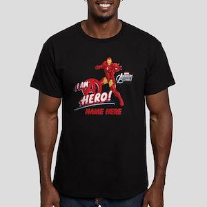Avengers Assembled Iro Men's Fitted T-Shirt (dark)
