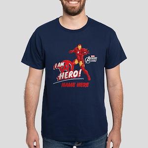 Avengers Assembled Iron Man Personali Dark T-Shirt