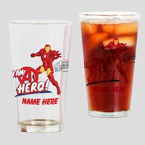 Avengers Assembled Iron Man Persona Drinking Glass