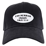 USS DURHAM Black Cap with Patch
