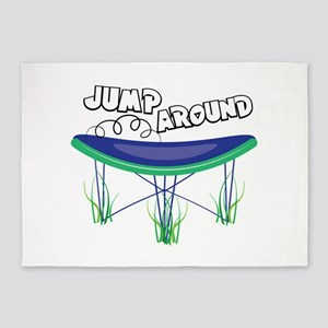 Jump Around 5'x7'Area Rug