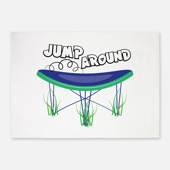 Jump Around 5'x7'Area Rug